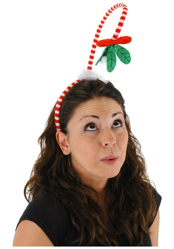 Hanging Mistletoe Headband