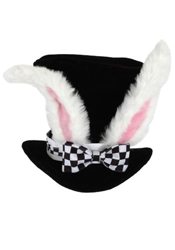 Kid's White Rabbit Top Hat