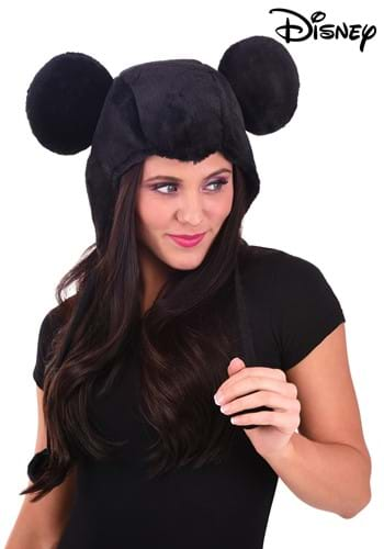Cozy Mickey Mouse Hoodie Hat