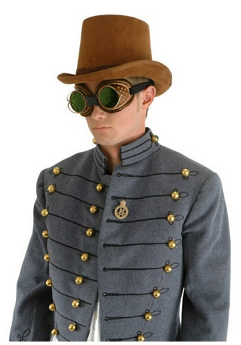 Steampunk Coachman Hat
