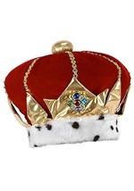 King Costume Hat
