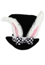 Adult White Rabbit Top Hat