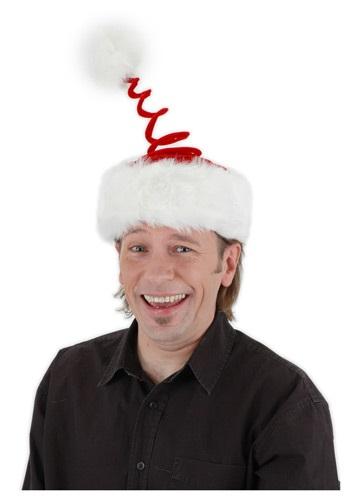 Festive Springy Santa Hat