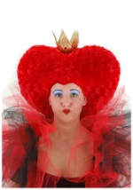 Queen of Hearts Costume Wig