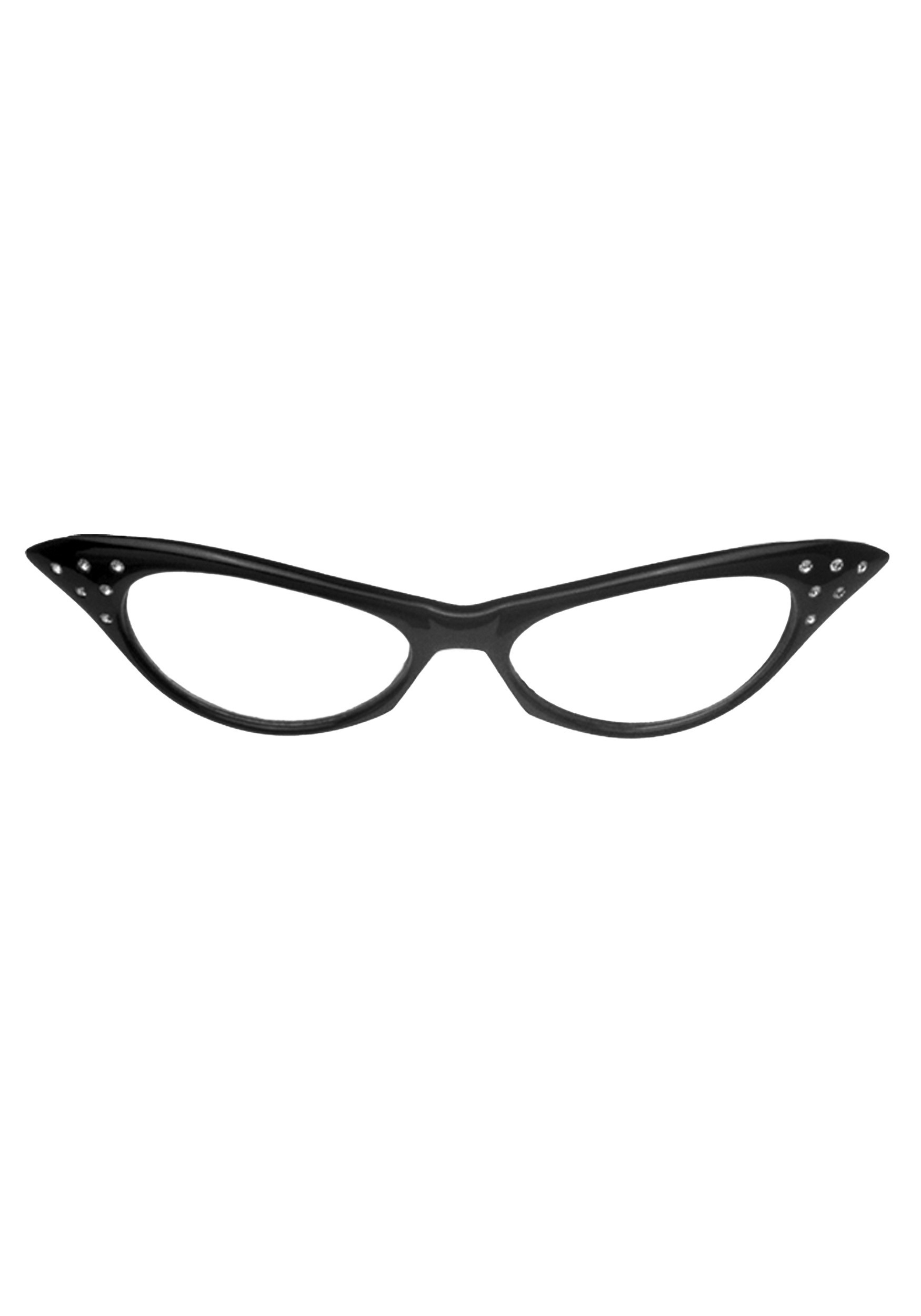 b4c276995e Cat Eye Glasses - 1950s Costume Accessories
