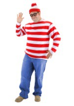 Where's Waldo Plus Size Costume