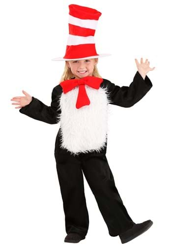 Deluxe Cat in the Hat Toddler Costume
