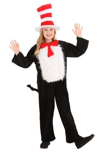 Deluxe Kids Cat in the Hat Costume