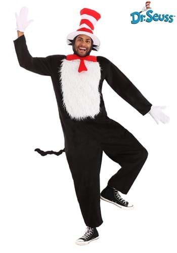 Cat in the Hat Adult Deluxe Costume