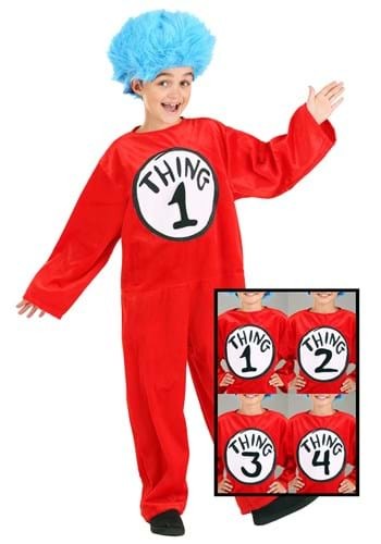 Thing 1 and 2 Child Costume
