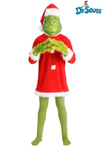 Deluxe Holiday Grinch Costume