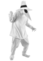 Spy vs Spy Adult White Costume