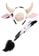 Cow Accessory Set