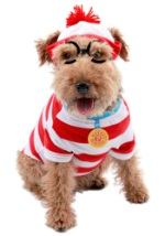 Where's Wally Dog Costume