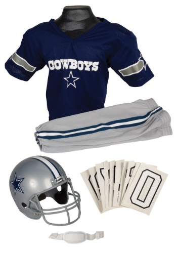 NFL Cowboys Player Costume