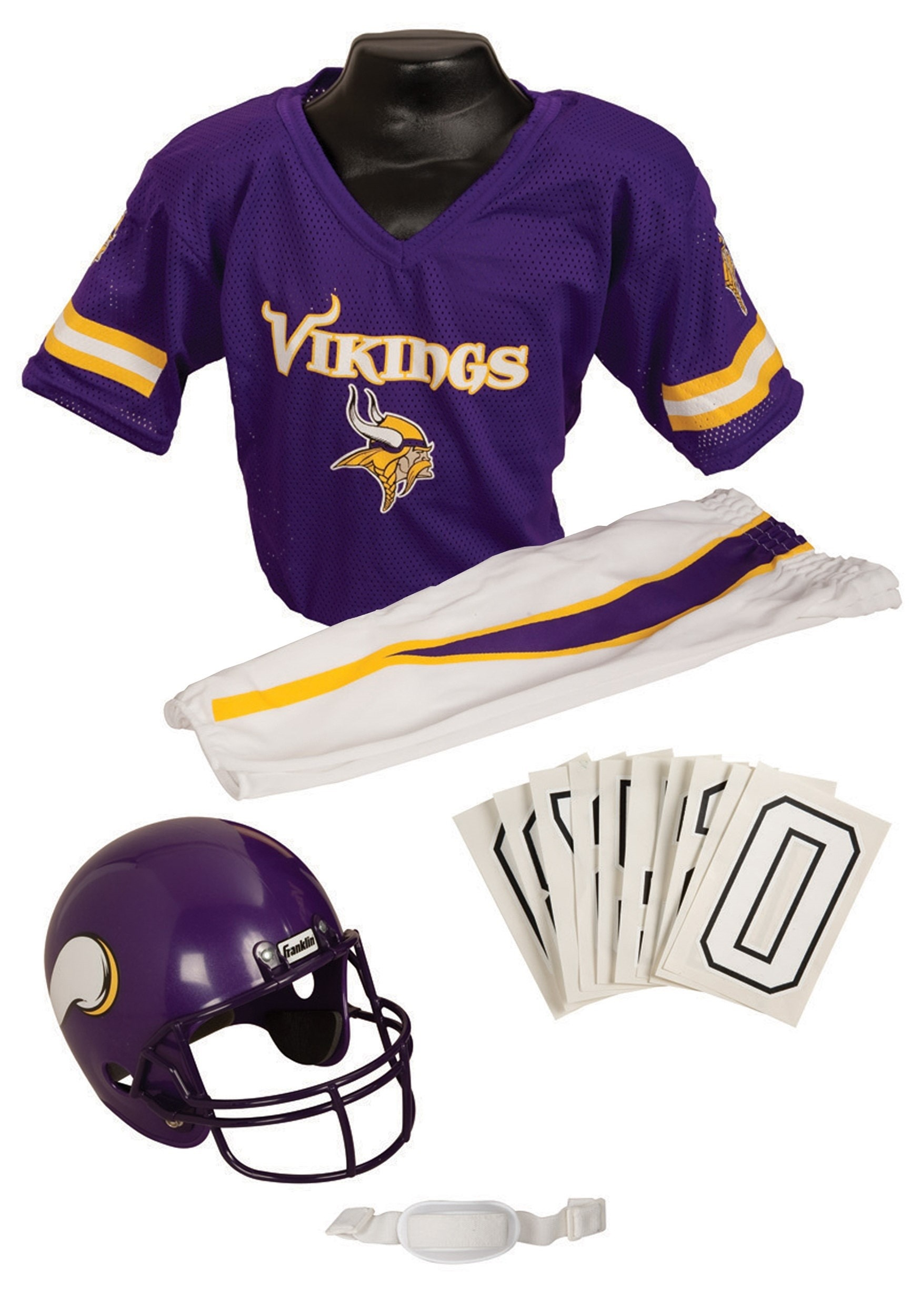 a45e1d524 NFL Vikings Player Costume - Minnesota Vikings Football Uniform Costume