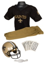 Boys NFL New Orleans Saints Uniform Costume