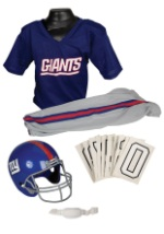 NFL Giants Player Costume