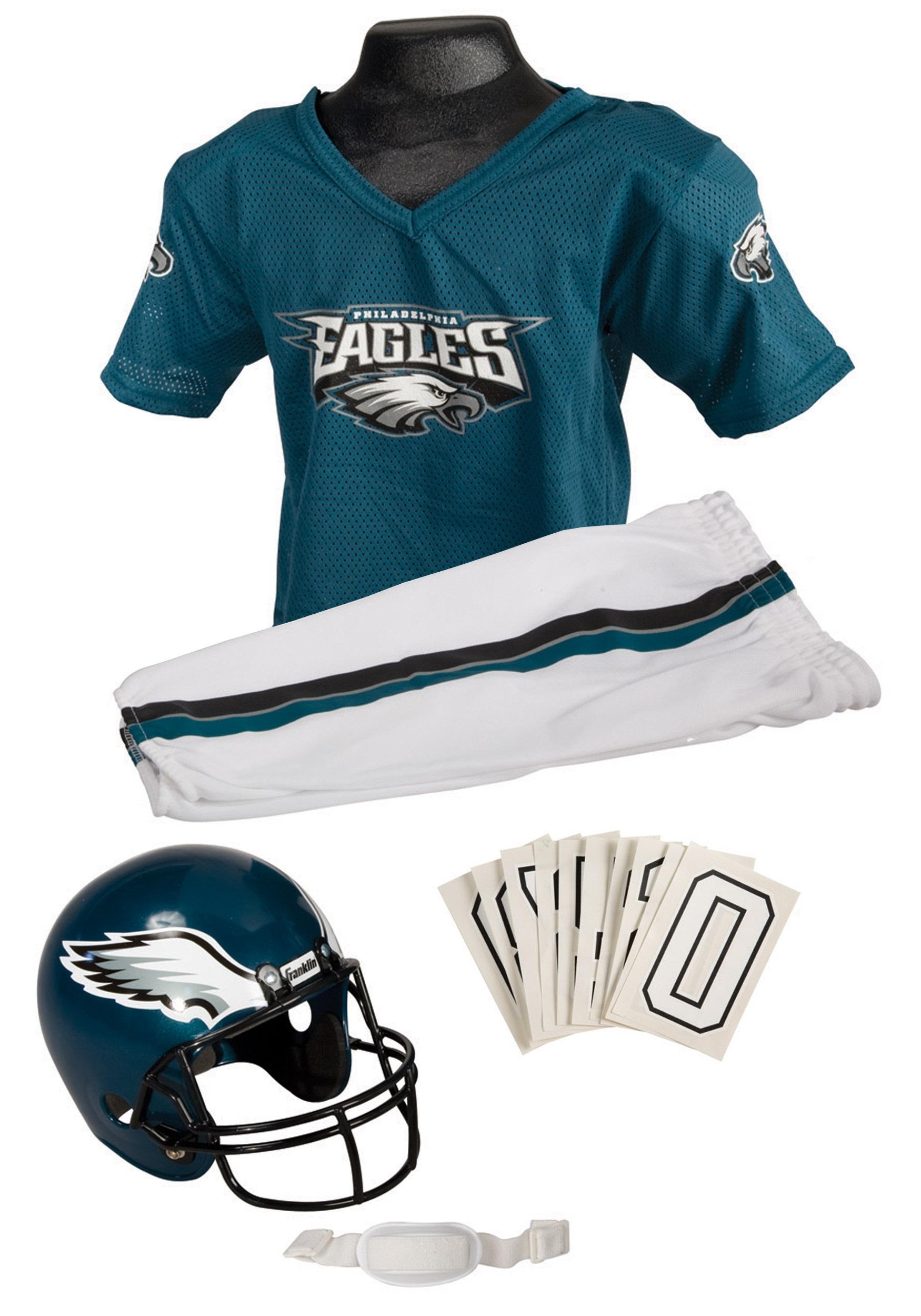 Boys NFL Eagles Uniform Costume  sc 1 st  Halloween Costume & Boys NFL Eagles Uniform Costume - Philadelphia Eagles Football Costume