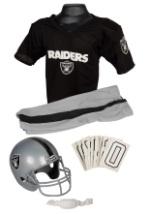 Child NFL Raiders Uniform Costume