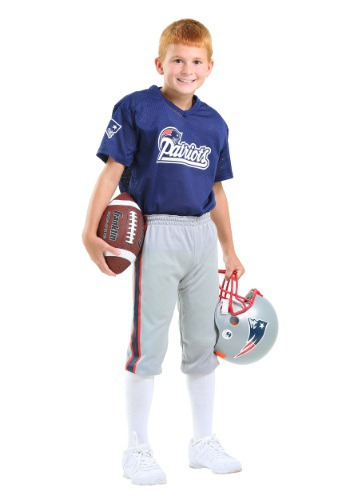NFL Patriots Player Costume