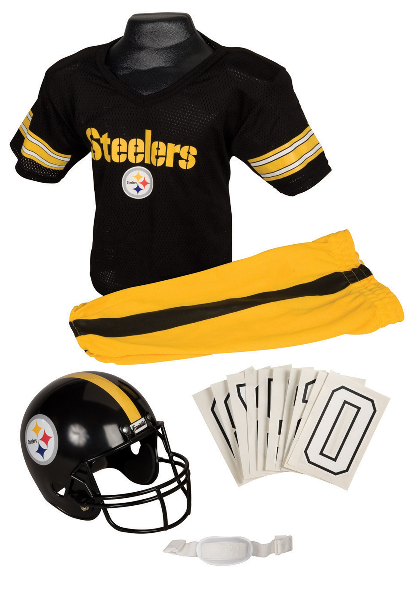 0d5268f18 NFL Steelers Player Costume - Steelers Football Player Uniform