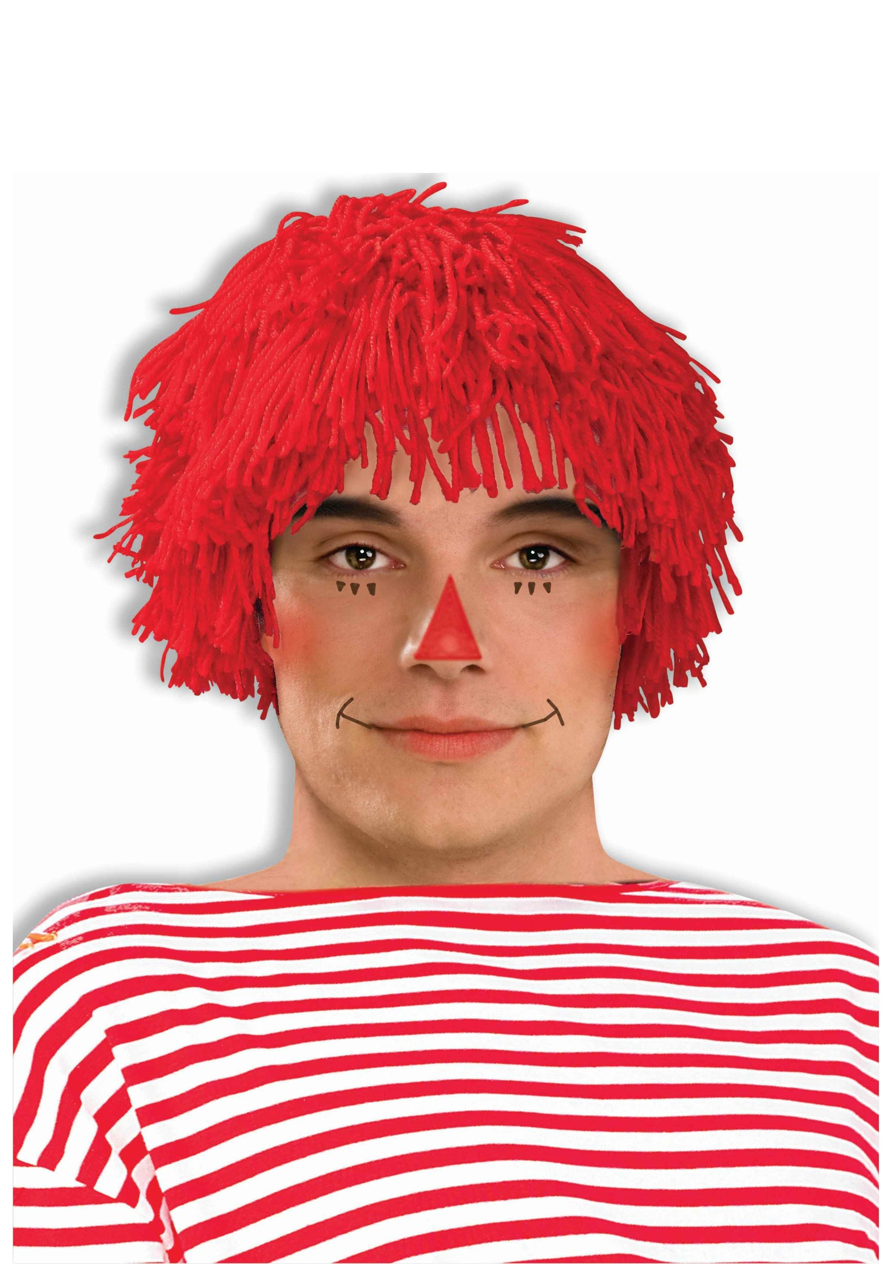 Adult Rag Doll Boy Wig  sc 1 st  Halloween Costume & Adult Rag Doll Boy Wig - Raggedy Andy Costume Accessory