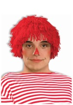 Adult Rag Doll Boy Wig