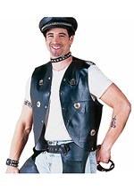 Biker Stud Costume Vest