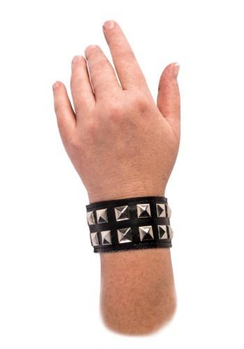 Black Studded Wrist Cuff