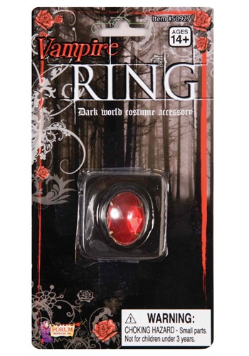 Red Vampire Ring