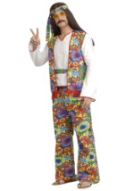 Plus Size Hippie Costume