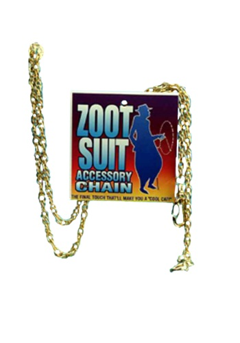Gangster Zoot Suit Chain