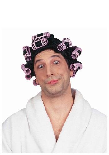 Old Lady Hair Curlers Wig