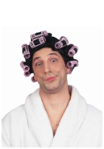 Old Lady Hair Curlers Wig