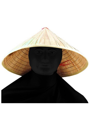 Asian Bamboo Hat