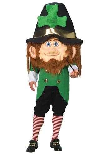 Humongous Leprechaun Head Costume