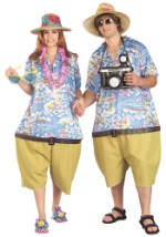 Couples Tropical Tourist Costume