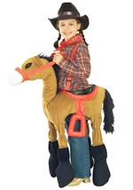 Western Brown Horse Costume