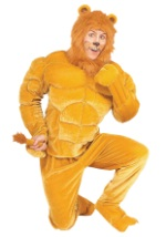 Muscle Chest Lion Costume