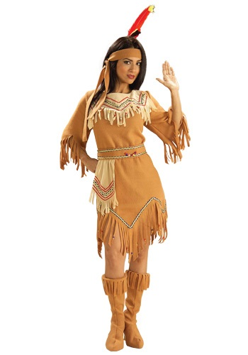 Womens Plains Indian Costume