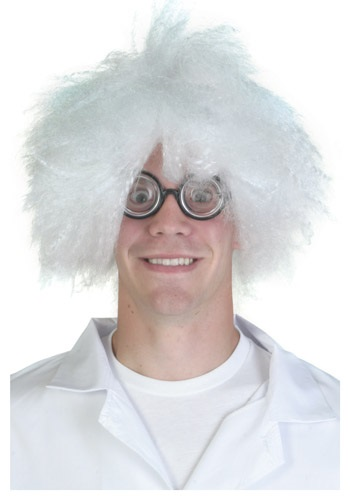 Frazzled Scientist Wig