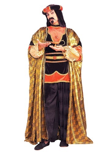Mystical Sultan Costume  sc 1 st  Halloween Costume : adult jafar costume  - Germanpascual.Com