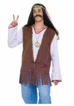Men's Groovy Hippie Vest