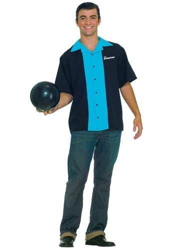 Plus Size King Pin Bowling Shirt