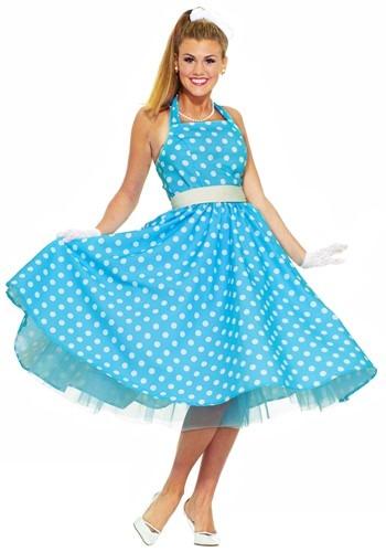 Ladies 50s Prom Dress