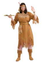 Plus Size Ladies Indian Costume
