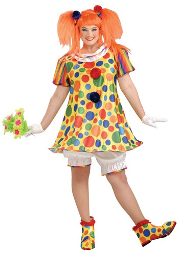 Giggles the Clown Costume Plus