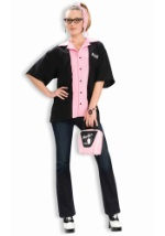 Womens Retro Bowling Shirt