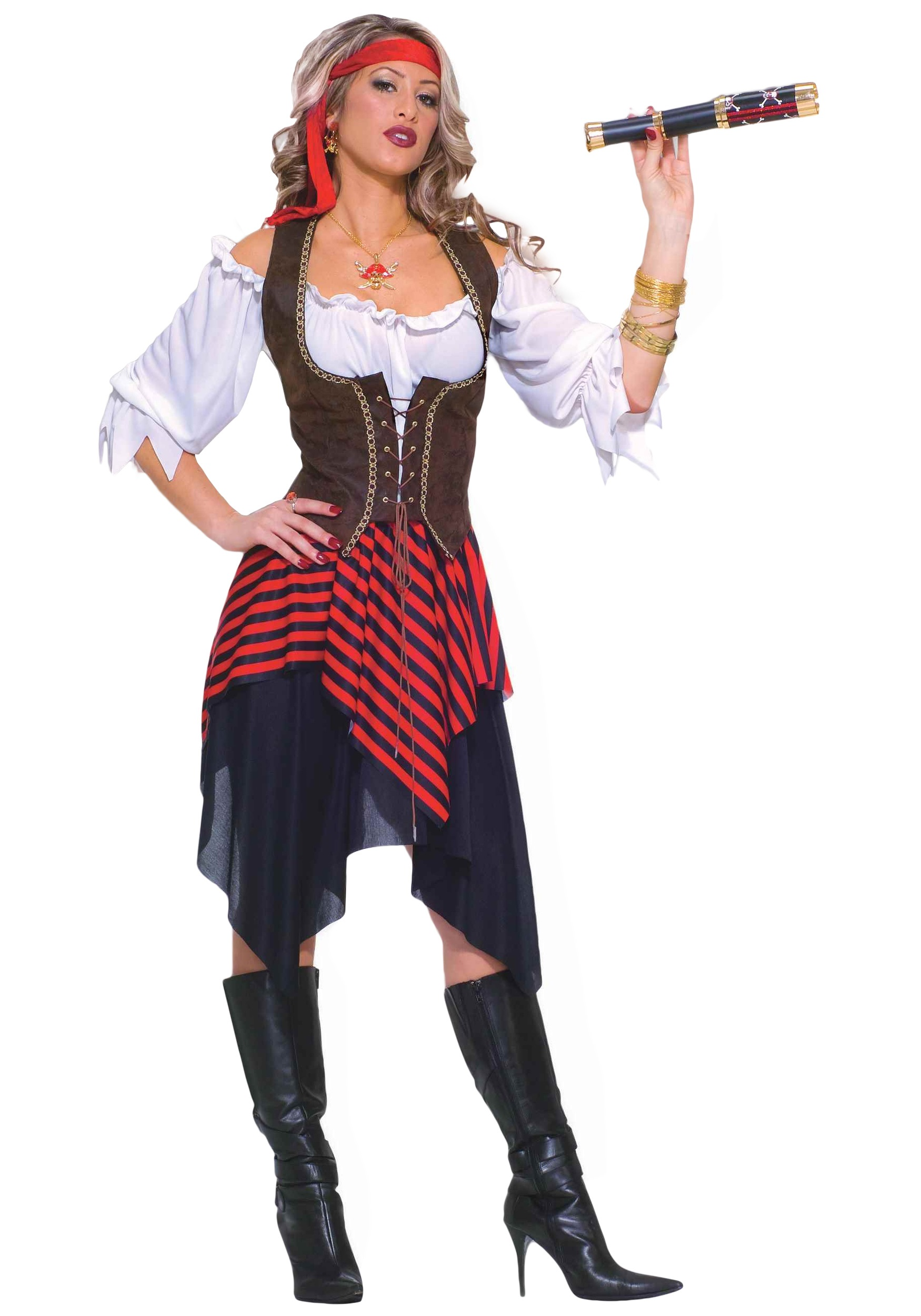 pirate adult wench costume